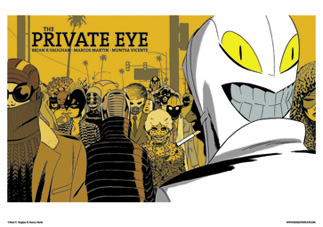 THE PRIVATE EYE #1 COVER