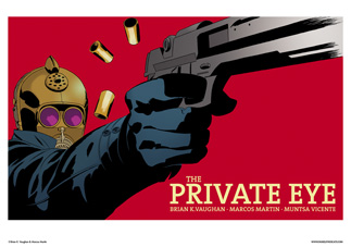 THE PRIVATE EYE #2 COVER