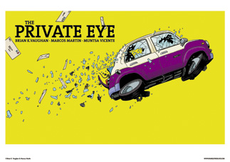 THE PRIVATE EYE #4 COVER