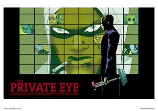 THE PRIVATE EYE #5 COVER