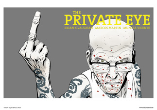 THE PRIVATE EYE #8 COVER
